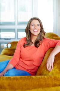 Vivian Howard Headshot_Gold couch (credit Stacey Van Berkel)